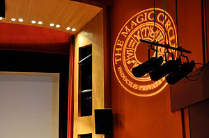 Inside The Magic Circle theatre